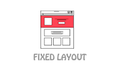 Website Design Fixed Layout Type