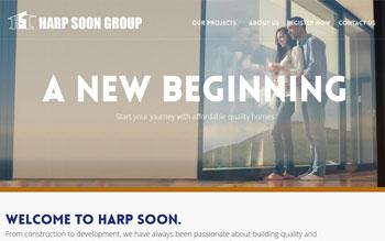 Harp Soon - Web Design in Malaysia