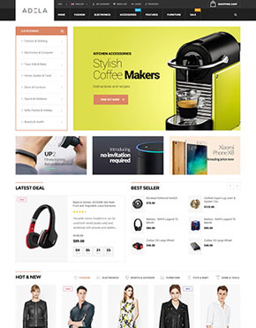 Adela Multipurpose WooCommerce WordPress Theme